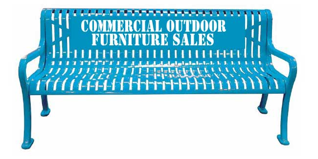 Commercial Outdoor Furniture Sales