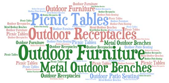 Commercial Outdoor Furniture Sales - Call For FREE Quote