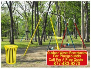 Quality Outdoor Commercial Waste Receptacles For Sale In San Marcus, Austin & San Antonio Texas