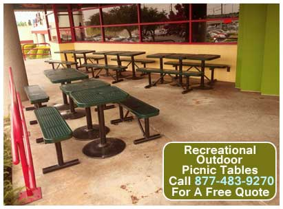 Metal Recreational Outdoor Picnic Table Kit For Sale Cheap At Wholesale Discount Pricing