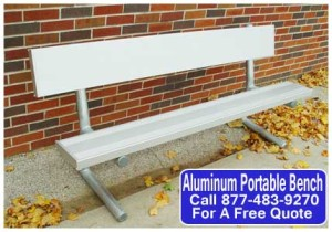 Aluminum Portable Bench
