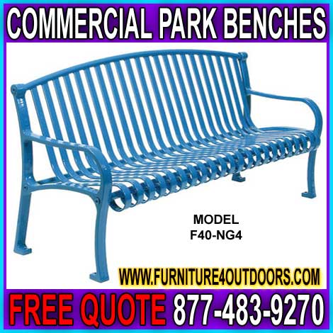 Quality Discount Commercial Park Benches On Sale Now - Buy Direct From The Manufacturer And Save Money Today