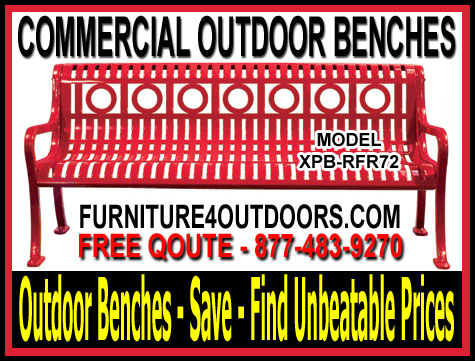 Discount Commercial Outdoor Benches For Sale Manufacturer Direct Prices Save You Time & Money