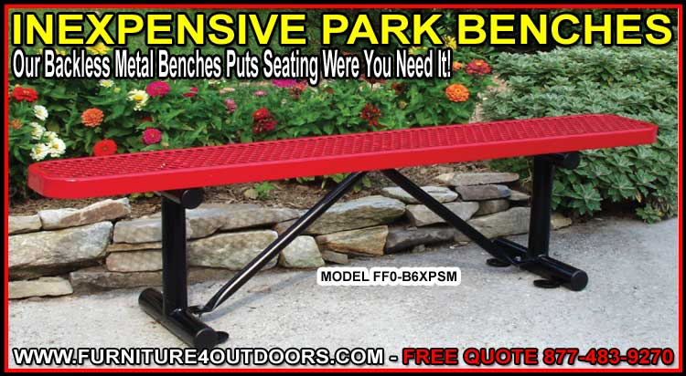 Inexpensive Park Benches For Sale Direct From The Factory Saves You Time And Money!